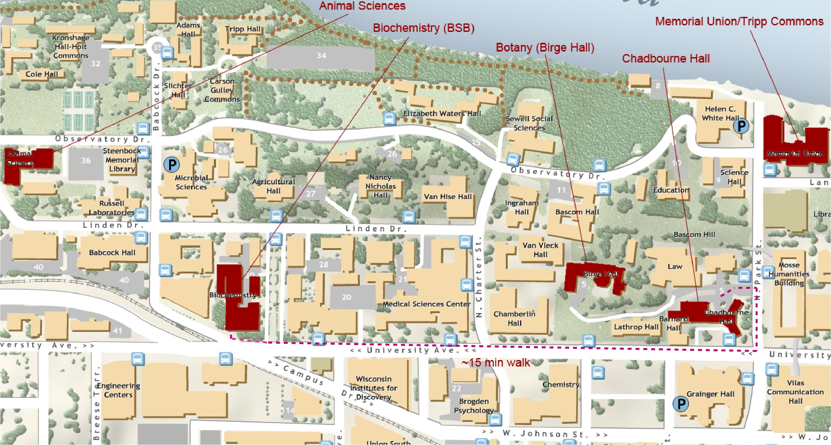 uw madison campus map printable Midwest Pcb Registrants uw madison campus map printable